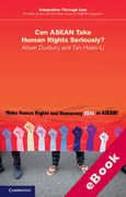 Cover of The Role of Law and the Rule of Law in ASEAN Integration: Can ASEAN Take Human Rights Seriously? (eBook)