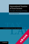 Cover of International Taxation of Trust Income (eBook)