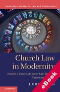 Cover of Church Law in Modernity: Toward a Theory of Canon Law Between Nature and Culture (eBook)