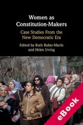Cover of Women as Constitution-Makers: Case Studies From the New Democratic Era (eBook)