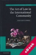 Cover of The Art of Law in the International Community (eBook)