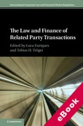 Cover of The Law and Finance of Related Party Transactions (eBook)