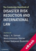Cover of The Cambridge Handbook of Disaster Risk Reduction and International Law (eBook)
