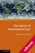 Cover of The Nature of International Law (eBook)