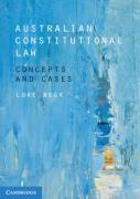 Cover of Australian Constitutional Law: Concepts and Cases