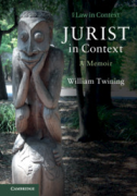 Cover of Jurist in Context: A Memoir