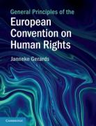 Cover of General Principles of the European Convention on Human Rights