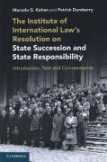Cover of The Institute of International Law's Resolution on State Succession and State Responsibility: Introduction, Text and Commentaries