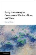 Cover of Party Autonomy in Contractual Choice of Law in China