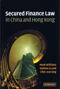 Cover of Secured Finance Law in China and Hong Kong