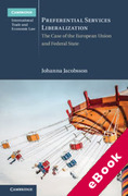 Cover of Preferential Services Liberalization: The Case of the European Union and Federal States (eBook)