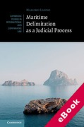 Cover of Maritime Delimitation as a Judicial Process (eBook)