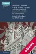 Cover of Emerging Powers in the International Economic Order: Cooperation, Competition and Transformation (eBook)