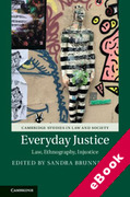 Cover of Everyday Justice: Law, Ethnography, Injustice (eBook)