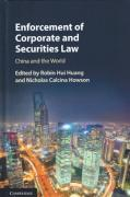 Cover of Enforcement of Corporate and Securities Law: China and the World