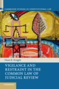 Cover of Vigilance and Restraint in the Common Law of Judicial Review