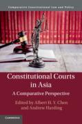 Cover of Constitutional Courts in Asia: A Comparative Perspective