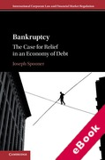 Cover of Bankruptcy: The Case for Relief in an Economy of Debt: A Critical Approach (eBook)