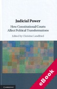Cover of Judicial Power: How Constitutional Courts Affect Political Transformations (eBook)