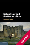 Cover of Natural Law and the Nature of Law (eBook)