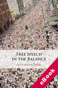Cover of Free Speech in the Balance (eBook)