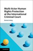 Cover of Multi-Actor Human Rights Protection at the International Criminal Court