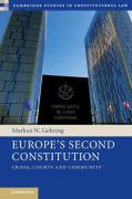 Cover of Europe's Second Constitution: Crisis, Courts and Community
