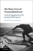 Cover of The Many Lives of Transnational Law: Critical Engagements with Jessup's Bold Proposal