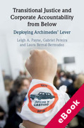 Cover of Transitional Justice and Corporate Accountability from Below: Deploying Archimedes' Lever (eBook)