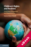 Cover of Children's Rights and Business: Governing Obligations and Responsibility (eBook)