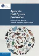Cover of Agency in Earth System Governance