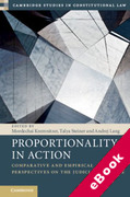 Cover of Proportionality in Action: Comparative and Empirical Perspectives on the Judicial Practice (eBook)