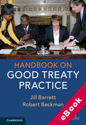 Cover of Handbook on Good Treaty Practice (eBook)
