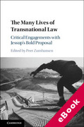 Cover of The Many Lives of Transnational Law: Critical Engagements with Jessup's Bold Proposal (eBook)