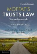 Cover of Moffat's Trusts Law: Text and Materials