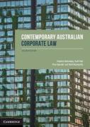 Cover of Contemporary Australian Corporate Law