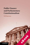 Cover of Public Finance and Parliamentary Constitutionalism (eBook)