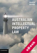 Cover of Australian Intellectual Property Law (eBook)