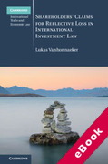 Cover of Shareholders' Claims for Reflective Loss in International Investment Law (eBook)