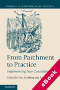 Cover of From Parchment to Practice: Implementing New Constitutions (eBook)