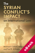 Cover of The Syrian Conflict's Impact on International Law (eBook)