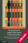 Cover of Transnational Legal Ordering of Criminal Justice (eBook)