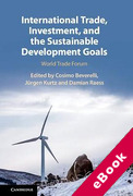 Cover of International Trade, Investment, and the Sustainable Development Goals: World Trade Forum (eBook)