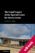Cover of The Legal Legacy of the Special Court for Sierra Leone (eBook)