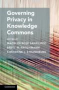 Cover of Governing Privacy in Knowledge Commons