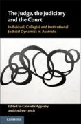Cover of The Judge, the Judiciary and the Court: Individual, Collegial and Institutional Judicial Dynamics in Australia