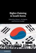 Cover of Rights Claiming in South Korea