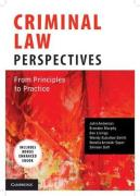 Cover of Criminal Law Perspectives: From Principles to Practice (Australia)
