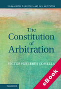 Cover of The Constitution of Arbitration (eBook)