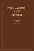 Cover of International Law Reports